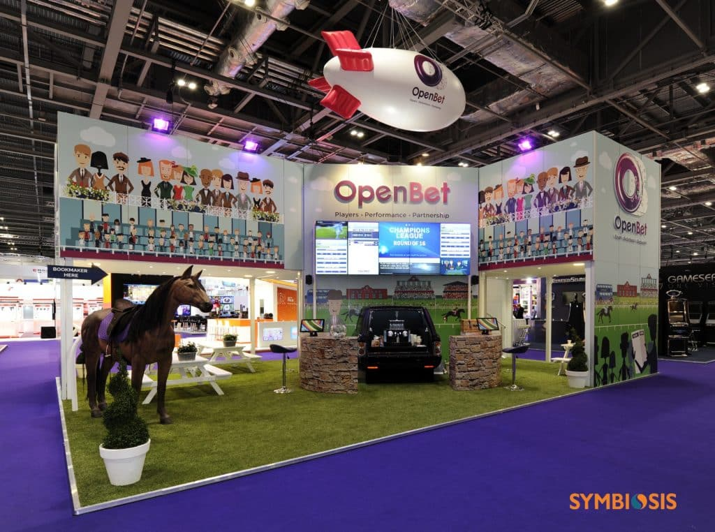 Exhibition Stand Game : Show success for symbiosis at ice totally gaming
