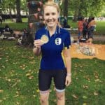 Gold for Emma in Prudential Ride London 100