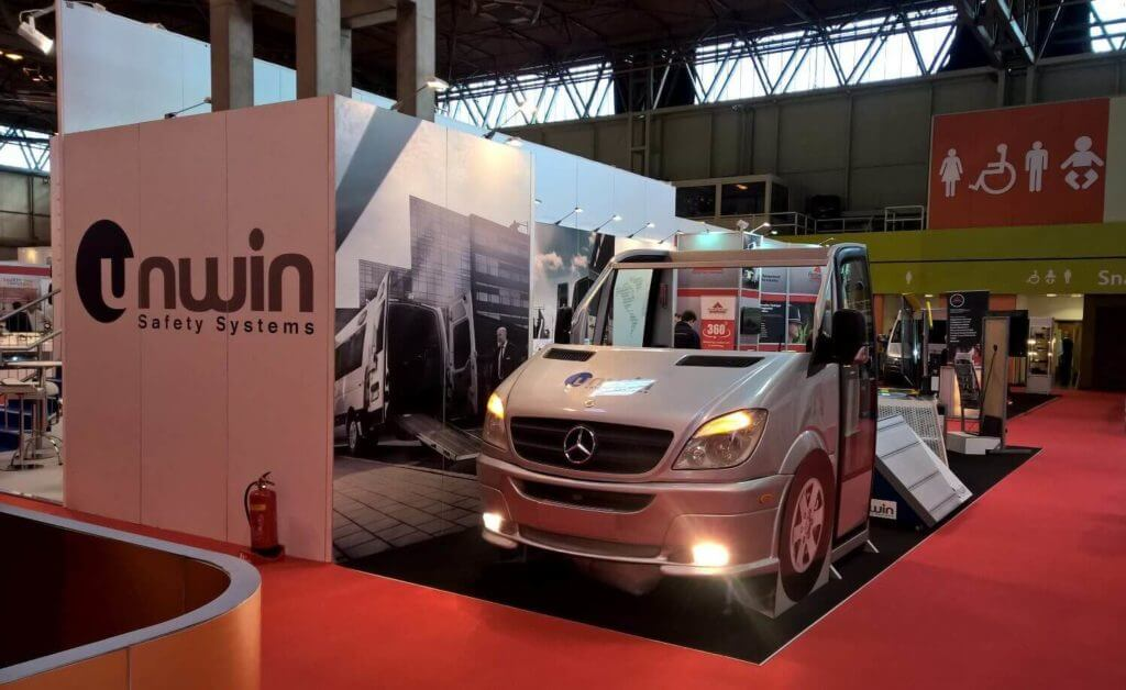 Exhibition Stand The CV Show