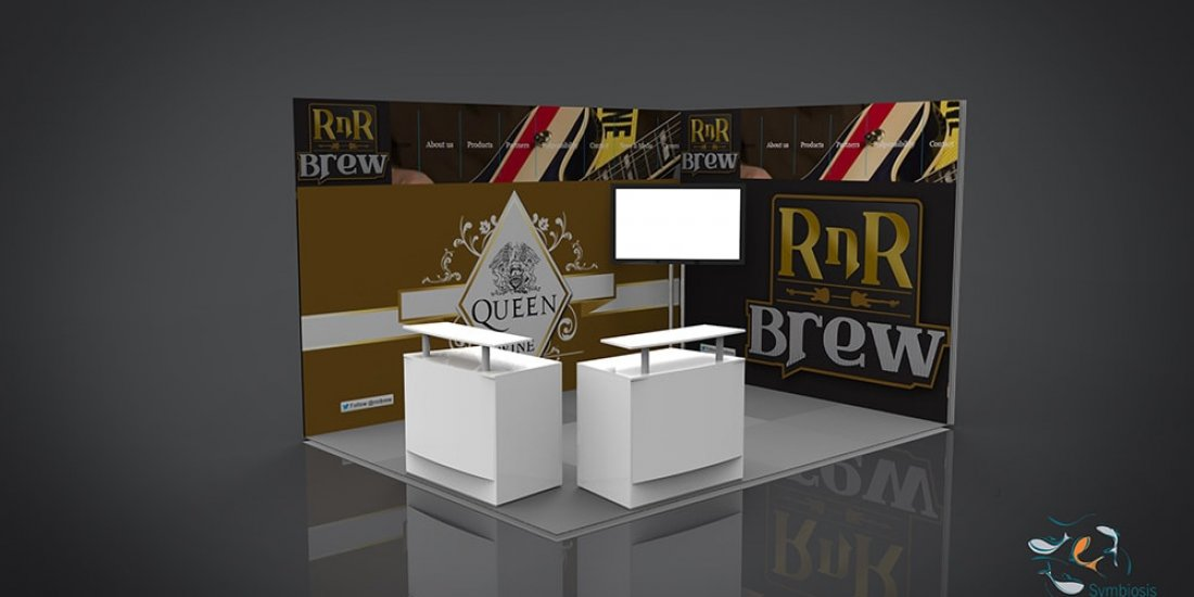 RnR Brew Portable Display