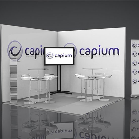 Capium Portable Display Stand