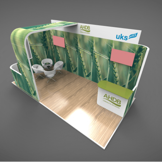Exhibition Stand Builders Association : Modular exhibition stands display symbiosis