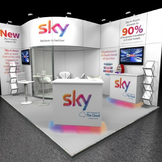 Sky TV, Independent Hotels Show 2014