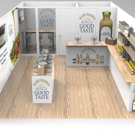 Mary Berry's Foods Home of Good Taste Tour